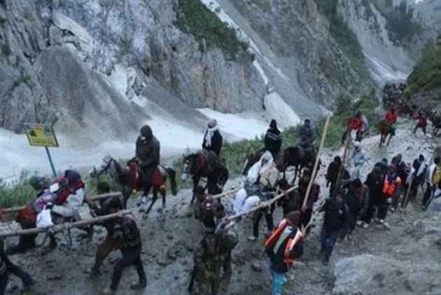 Image result for two man dead in amarnath yatra