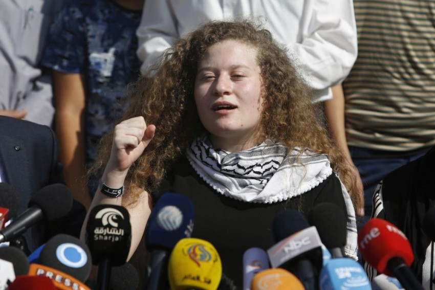 Ahed Tamimi, Palestinian 'Icon' Who Slapped Israeli Soldiers, Freed From Prison