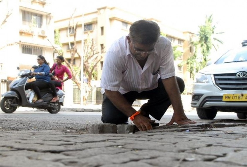 After Mumbai Man's Son Died Because Of A Pothole, He Filled 500 Of Them