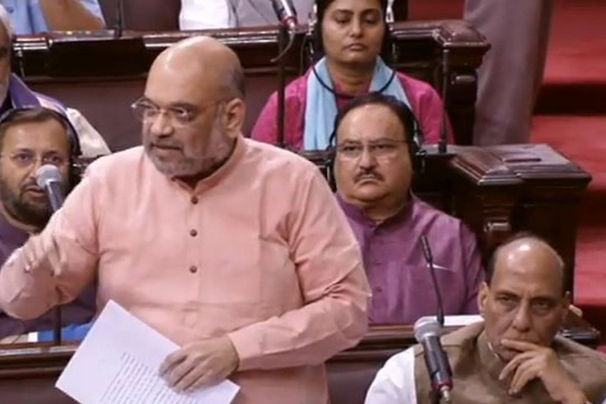 Amit Shah's Statement On Assam NRC Creates Uproar In Rajya Sabha, House Adjourned
