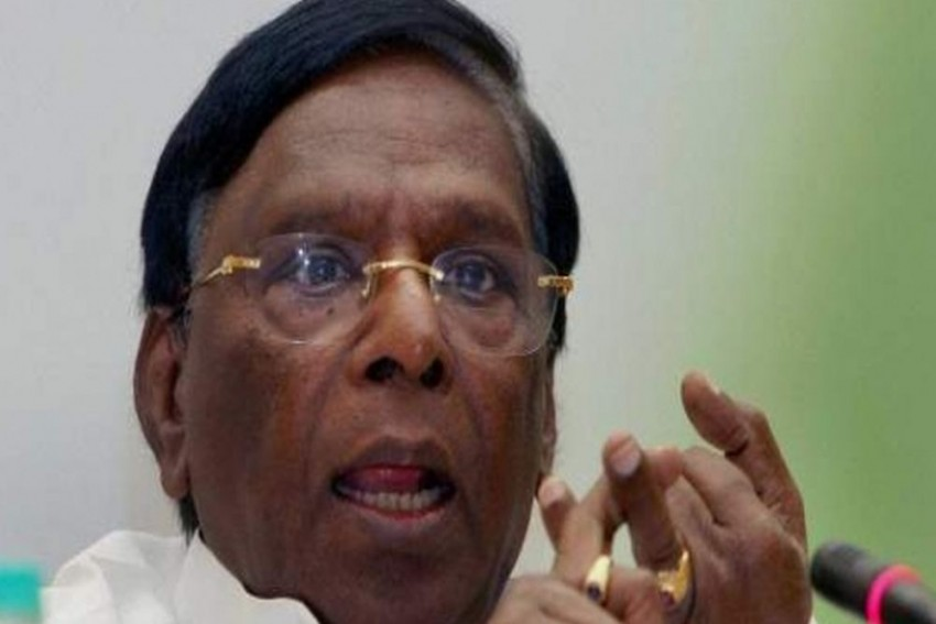 After SC Verdict On Delhi, Narayanasamy Says It's Relevant To Puducherry Too