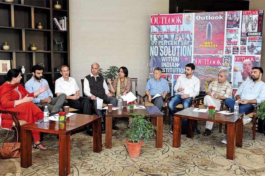 Kashmir Roundtable: A Solution Is Not Impossible When People Talk