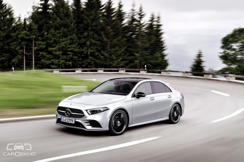 Mercedes-Benz A-Class Sedan With Shorter Wheelbase Revealed