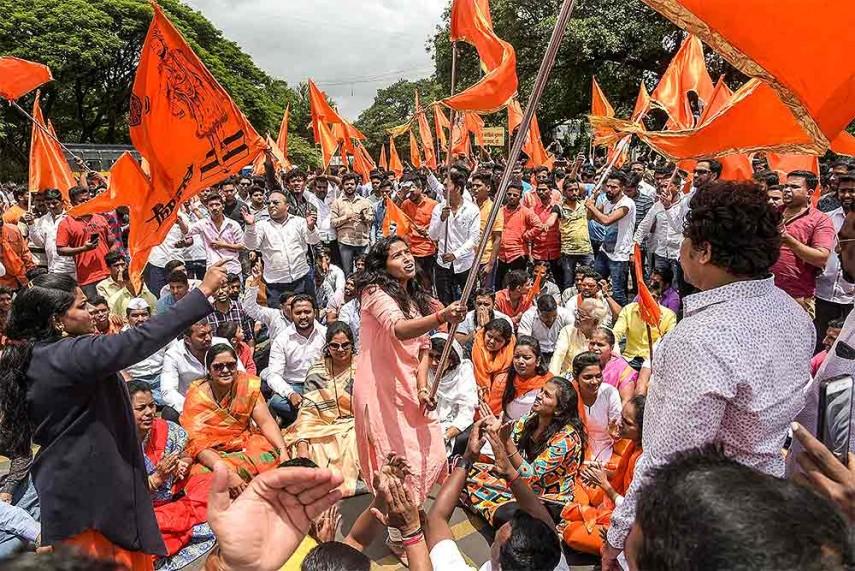 185 People Held In Pune For Vandalism, Violence During Maratha Bandh