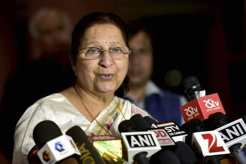 Somnath Chatterjee Was My Guide, I Always Used To Call Him, Now Whom Shall I Call: Sumitra Mahajan