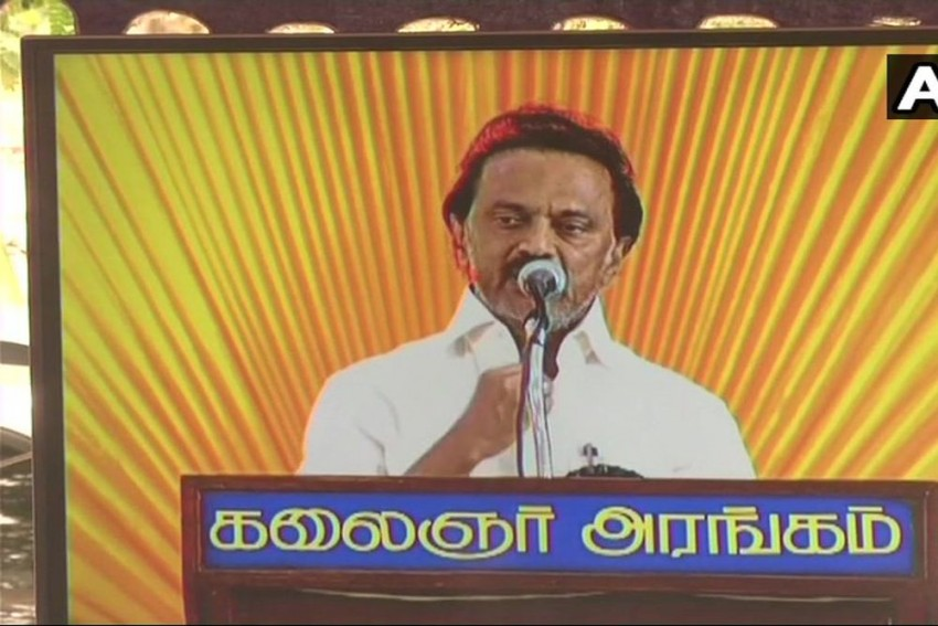 'Party Has Lost Its Leader But I Have Lost My Father': Stalin Remembers Karunanidhi At DMK Meet