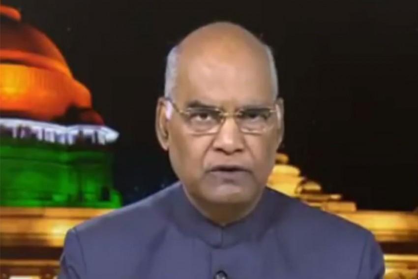 Highlights: President Ram Nath Kovind Addresses Nation On Independence Day Eve