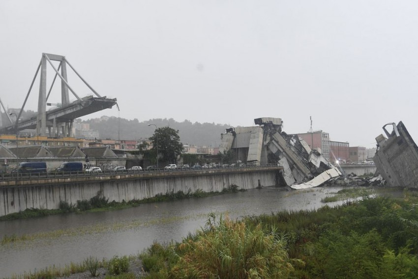 At Least 30 Dead As Bridge Collapses In Italy, Minister Fears 'Immense Tragedy'
