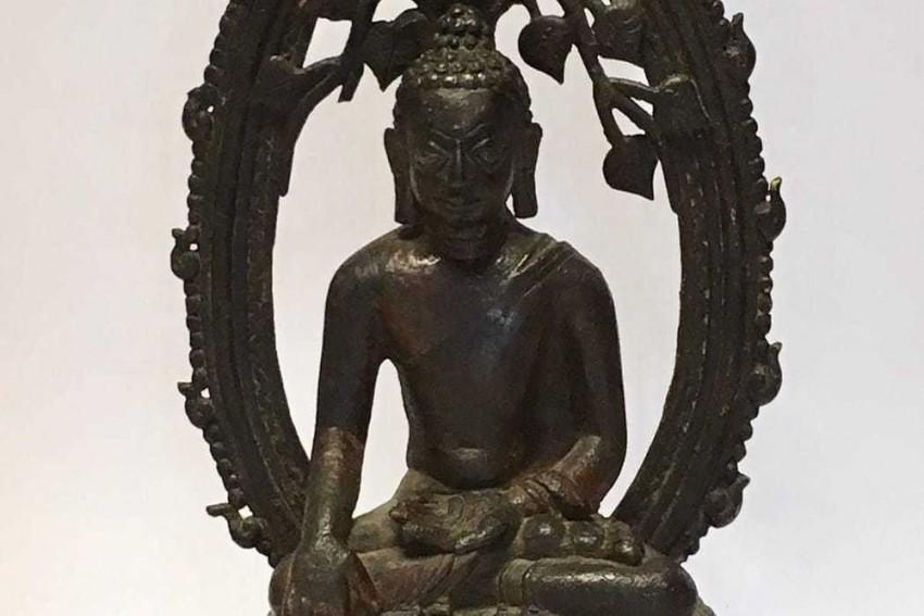 On India's I-Day, London Police Return 12th Century Buddha Statue Stolen From Bihar's Nalanda