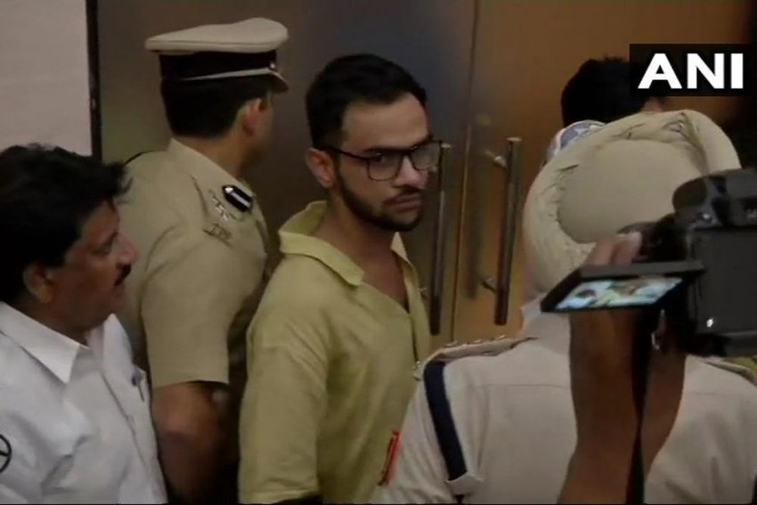 Attack On Umar Khalid: Special Cell Recreates Crime Scene Outside Constitution Club
