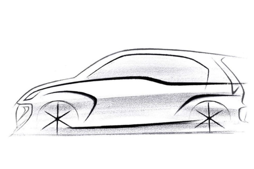 2018 Hyundai Santro: First Official Sketch Revealed