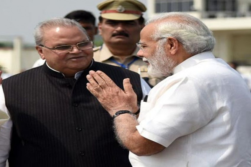 Modi Govt's Strategy Behind Appointment Of Satya Pal Malik As J&K Governor
