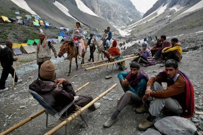 Amarnath Yatra From Jammu Suspended Due To Non-Availability Of Pilgrims