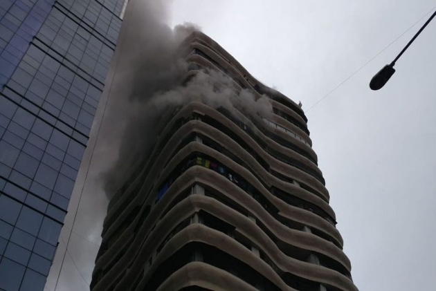 4 Dead, 16 Injured In Fire At Cystal Tower In Mumbai's Parel