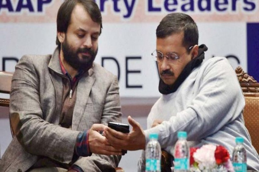 Ashish Khetan Wishes His 'Ex-Party Colleagues' Good Luck,  BJP Says Arvind Kejriwal's Charisma Fast Losing Its Sheen