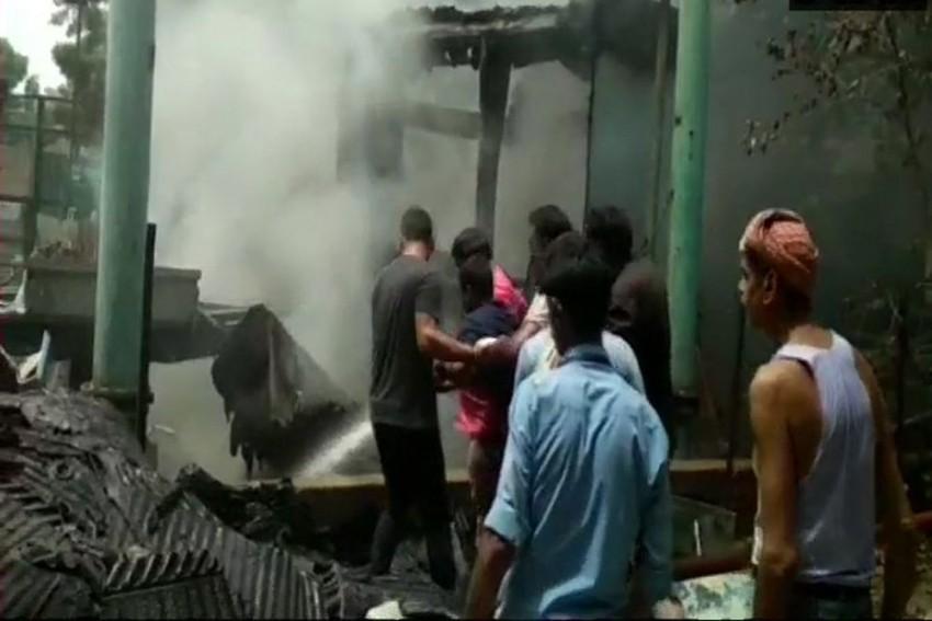Fire Breaks Out In Delhi's Doordarshan Bhawan