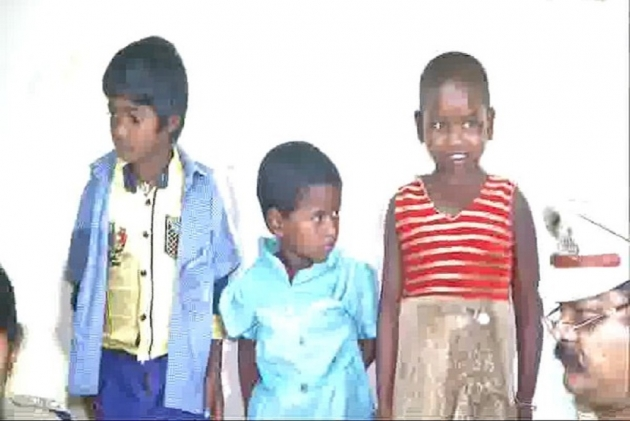 Three  Abducted Children Rescued, Kidnappers Held In Hyderabad