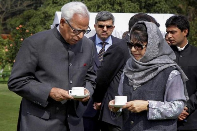 Vohra's Removal: When Delhi Sprung Surprise On Mehbooba, Repeated It On J&K Governor