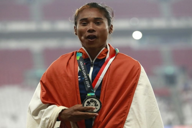 Asian Games: Hima Das, Muhammad Anas Bag Silver Medals