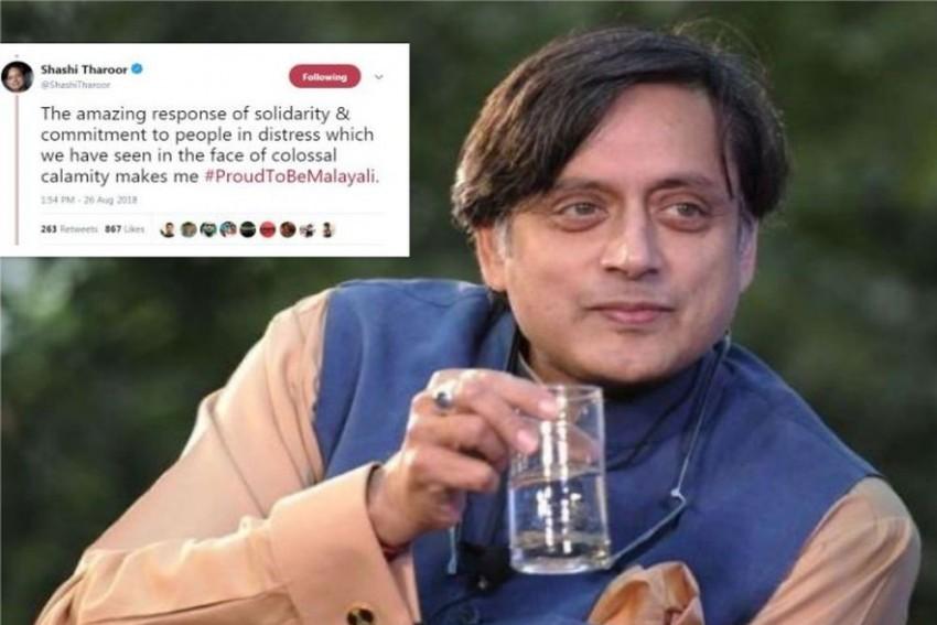 Shashi Tharoor's #ProudToBeMalayali Is Trending On Social Media, Here Is Why