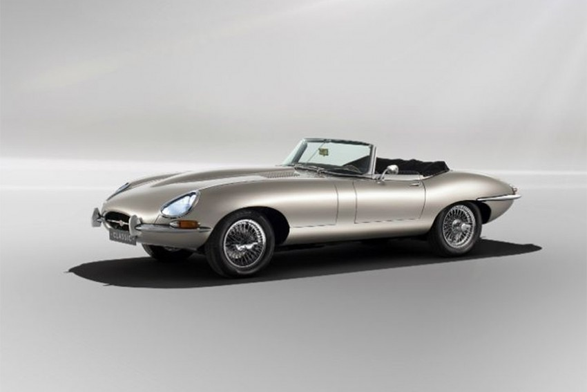 Now Drive Your Jaguar E-Type On Electric Power