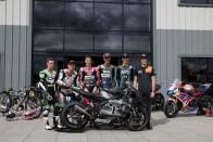 Triumph Celebrates Its Arrival At 2019 Moto2 Season