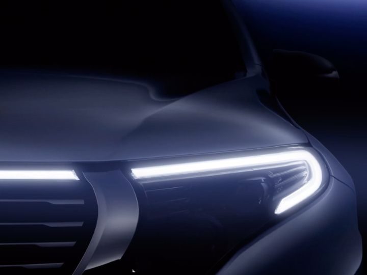 Mercedes-Benz To Unveil All-electric EQC SUV On Sept 4