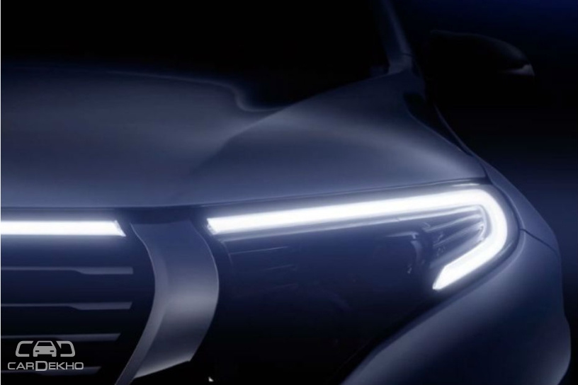 Mercedes-Benz EQC Electric SUV Teased Ahead Of Official Unveil on Sept 4