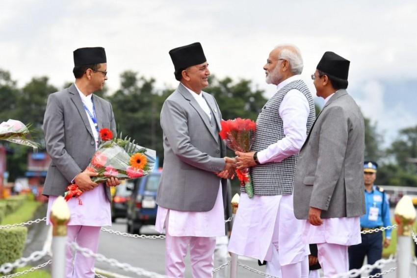 PM Modi In Kathmandu For BIMSTEC Summit