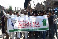 Shutdown Over Article 35A Cripples Life In Kashmir Valley