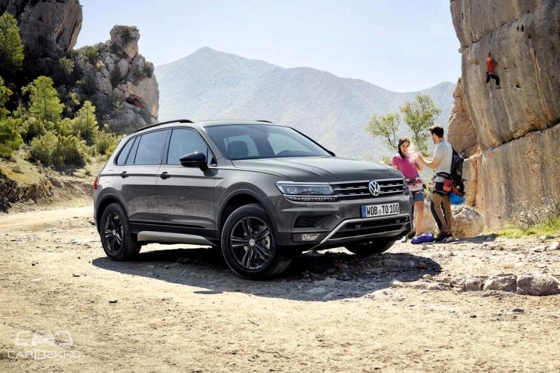 Volkswagen Tiguan OFFROAD Unveiled In Russia