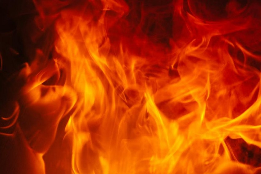 Dalit Youth Set On Fire In UP