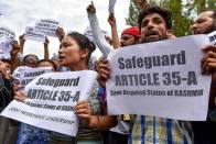 Article 35-A: All You Need To Know About The Controversial Provision Regarding J&K