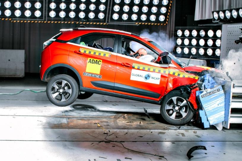 Tata Nexon Receives 4-Star Crash Test Rating!