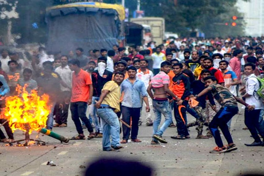 Quota Stir: Protesters Vandalise Property At Pune Collectorate