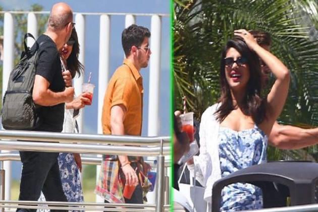 Priyanka And Nick's Mexican Vacation