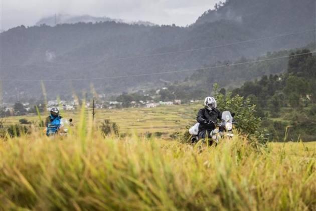 Royal Enfield Tour Of Uttarakhand Flagged Off