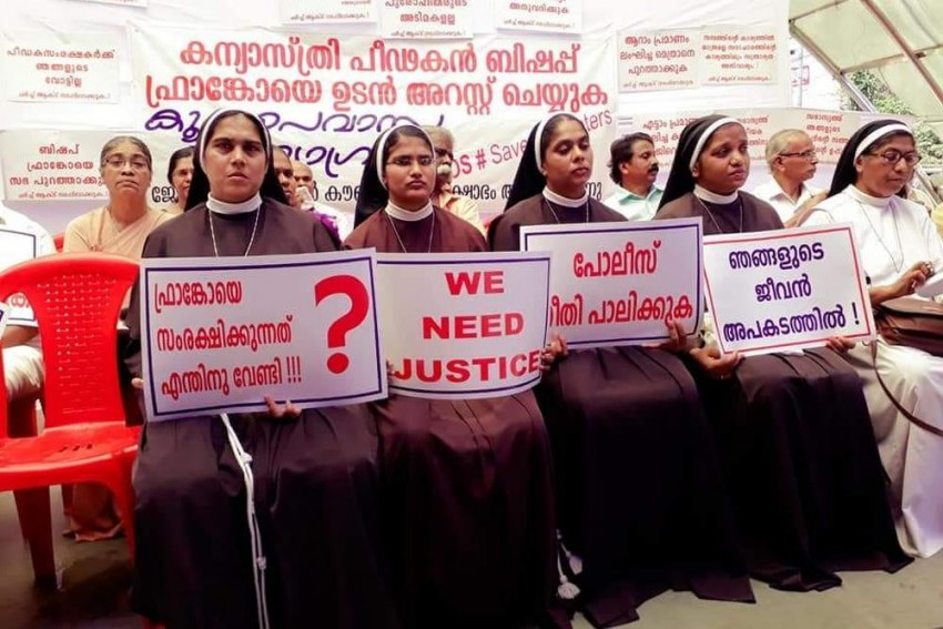 Case Against Missionaries Of Jesus For Posting Nun's Photo With Rape Accused Bishop