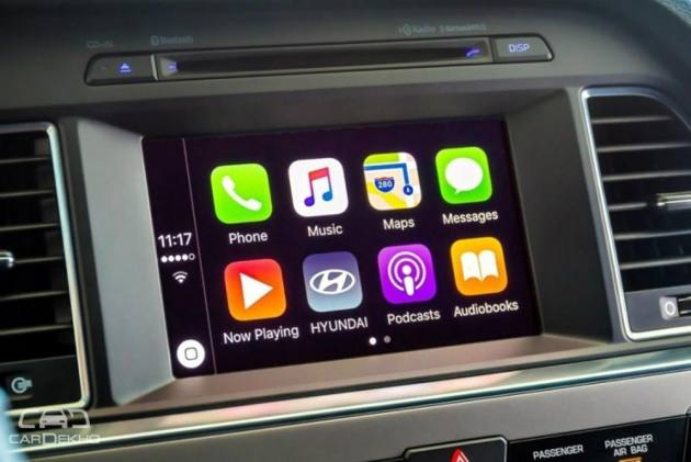 2018 Santro Likely To Get Hyundai's New Infotainment System With Apple CarPlay, Android Auto