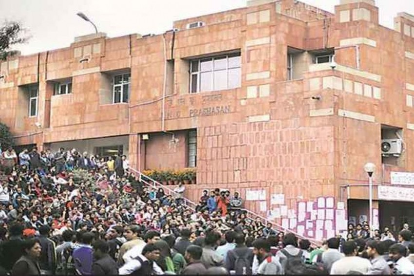 JNUSU Elections: Counting Suspended After ABVP Protest
