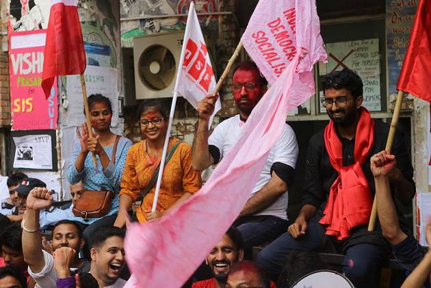 United Left Sweeps JNUSU Polls, Wins All Four Seats In Central Panel