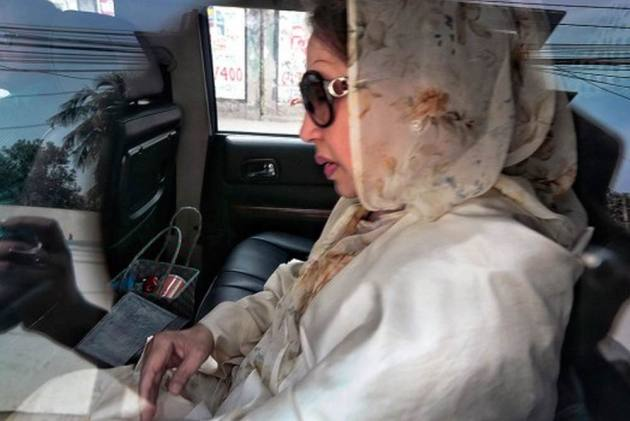 Medical Team Examines Former Bangladesh PM Khaleda Zia's Health In Dhaka Jail