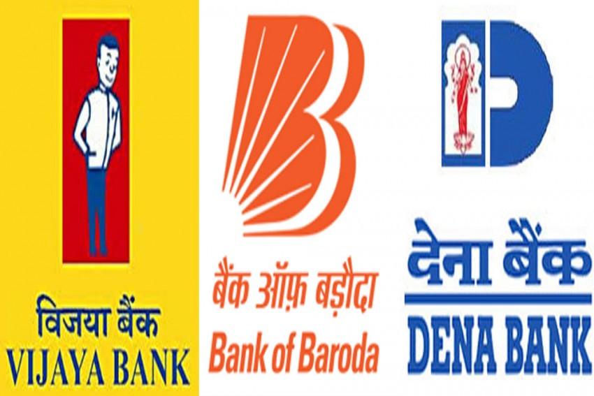 Govt Announces Merger Of Vijaya Bank, Dena Bank And Bank Of Baroda