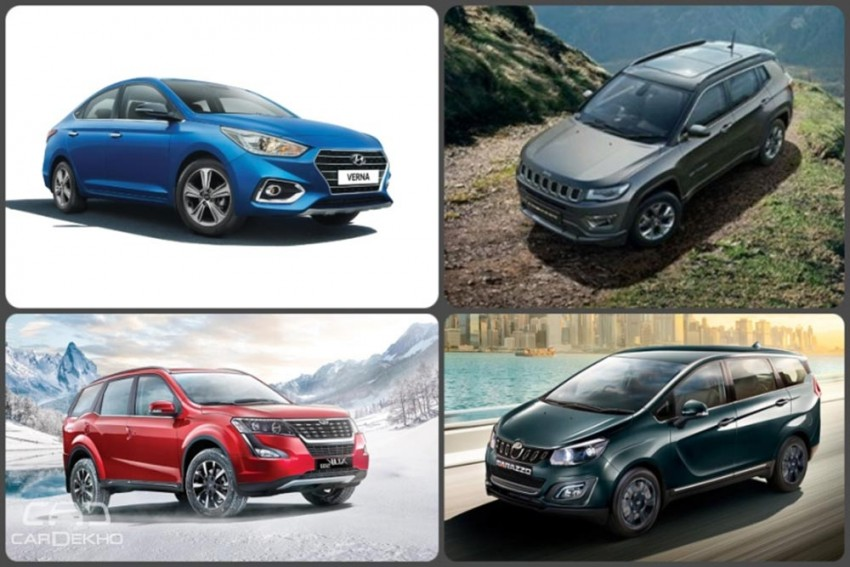 Weekly Wrap-up: Mahindra Marazzo Vs XUV500, Jeep Compass With Sunroof Coming Soon, Tiago NRG Vs Rivals & More