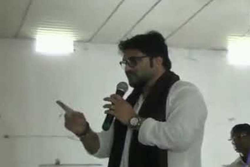 'Will Break Your Leg,' Says Babul Supriyo At Event For Differently Abled