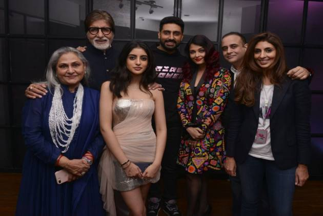 Amitabh Bachchan, Bollywood Celebrities Support Shweta's Design Debut