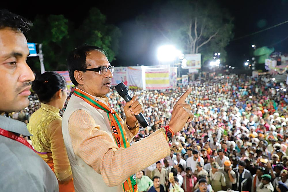 I See No Challenge; Congress Leaders Are Daydreaming: Shivraj Singh Chouhan