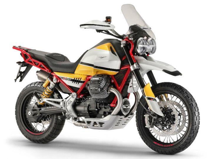 Moto Guzzi Unveils V85 TT Production Bike