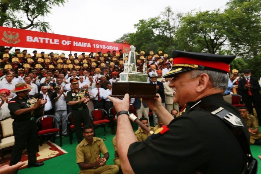 Haifa Day: Indian Army Commemorates Hundred Years Of Liberation Of Israeli City