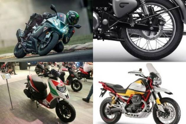 Motorcycle News Of The Week: 2019 Aprilia And Vespa Scooters Launched, RE Classic 350 Rear Disc Launched, 2019 Dominar And Pulsar 150 ABS Spied And Much More..